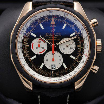 FSOT: Breitling - Chrono-Matic Limited Edition - R14360 - Rose Gold - 49mm - Serviced