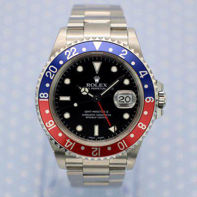 FS: 2000 Rolex GMT Master ll Ref. 16710 Pepsi   Papers