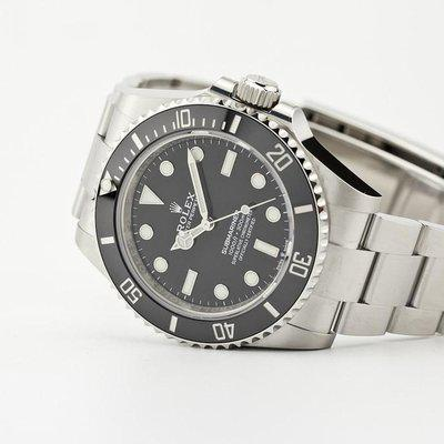 fsot - Rolex Submariner - No Date - 41mm - Ceramic - 124060 ( new / 2021 )