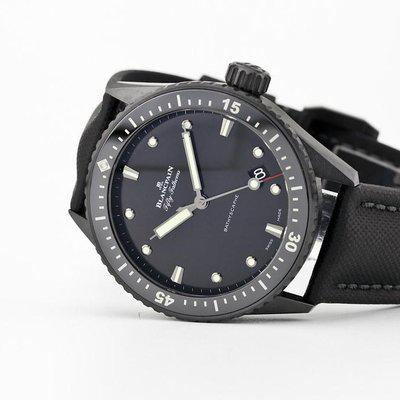 fsot - Blancpain Fifty Fathoms - Bathyscaphe - Ceramic - 5000-0130-B52A ( new / 2020 )