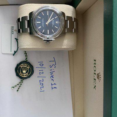 [WTS] Rolex Oyster Perpetual 34mm Blue Dial