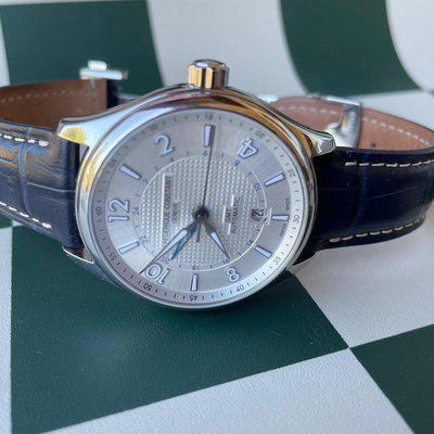FSO Frederique Constant Runabout GMT Automatic Watch
