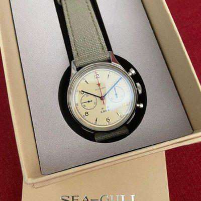 [WTS] Sea-Gull (Seagull) 1963 40mm chronograph with sapphire crystal for sale. NEW! $160