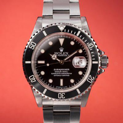 FS: 1998 Rolex Submariner 16610 with papers