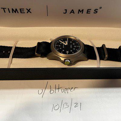 [WTS] Timex x The James Brand Expedition North Titanium Limited Edition