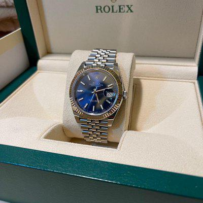 [WTS] Rolex Datejust 41 Ref. 126334 Blue Dial Fluted on Jubilee