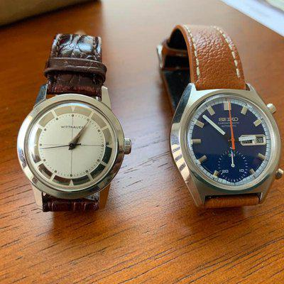 [WTS] Vintage Seiko 6139-8030 and 60s Wittnauer