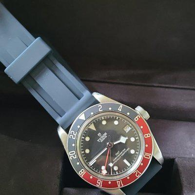 """FSOT: Tudor Black Bay GMT (79830RB) """"Pepsi"""" - 2x Straps, Box & Papers, Great Watch - $3,075"""