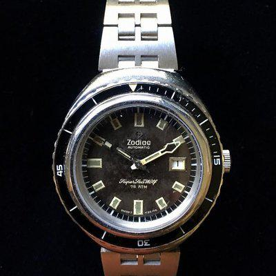 JB Champion band to carry Zodiac Sea Wolf other big watches