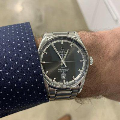 FS: Certina DS-1 Powermatic 80 Chronometer. Gray dial. Excellent condition.