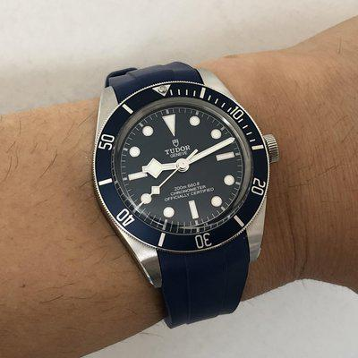 [WTS] Tudor Black Bay 58 Blue 79030B with Vanguard strap and matching blue leather strap. Full kit. $3300 net to me shipped free in conus.