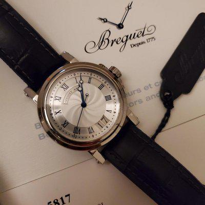 [WTS] Breguet Marine Big Date 5817 - Silver Dial - Complete