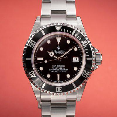 FS: 2008 Rolex Sea-Dweller 16600 with Papers