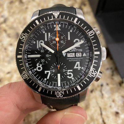 FS: Fortis Official Cosmonauts Chronograph **Rare Variant** 638.10.41.K