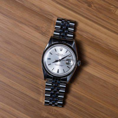 [WTS] Rolex Datejust 6605 - Stainless Steel on Jubilee - Circa 1957