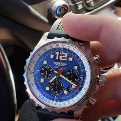 WTS SERVICED Breitling Chronospace A23360 Box & Papers