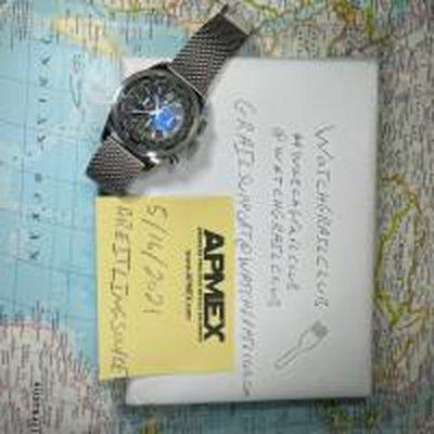 FS: SOLD Breitling Transocean world time 46mm Chronograph B1
