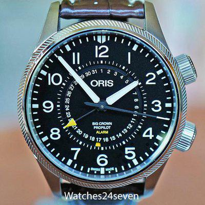 FS Oris Big Crown Pro Pilot Alarm Limited Edition 44mm GREAT PRICE!