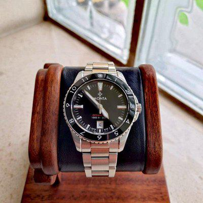 Monta Oceanking 12-hr bezel - limited run of 100 pieces only! Full set, dated 04/2020.