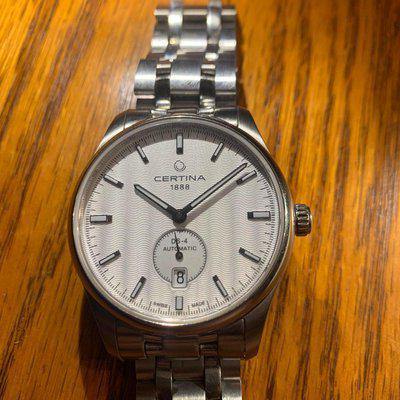[wts] Certina DS-4 Small Seconds White