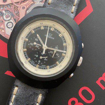 FS: Lemania 70s Anakin Skywalker Hand wind chronograph caliber 1873 rare and perhaps a candidate of prototype to omega