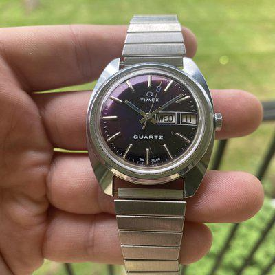 [WTS] Vintage 1970's Timex Q - NOT RUNNING - $30 Shipped to the USA