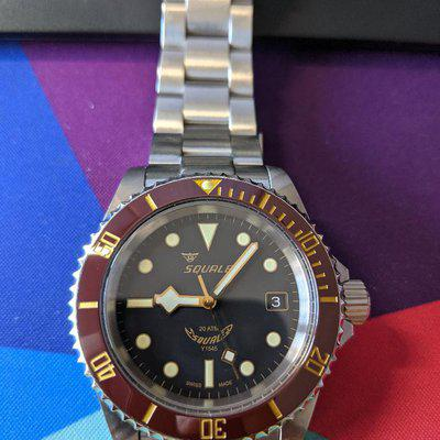For Sale: Squale 200 meter Heritage Y1545 Modified