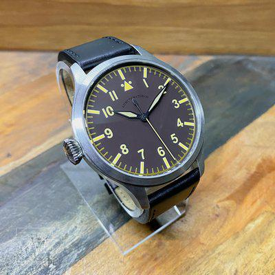 [WTS] Azimuth Bombardier VI Aviator WAtch with Left Crown $899