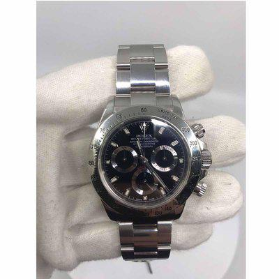 FS: Pre-owned Rolex Daytona 116520 40 mm Stainless Steel Black Dial Watch