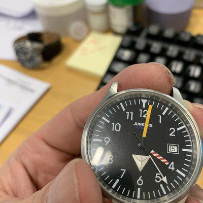 Junkers ETA automatic pilot cockpit super rare $350 made in Germany Swiss automatic movement