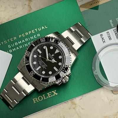 FS: Rolex Submariner Box & Papers excellent condition complete set.