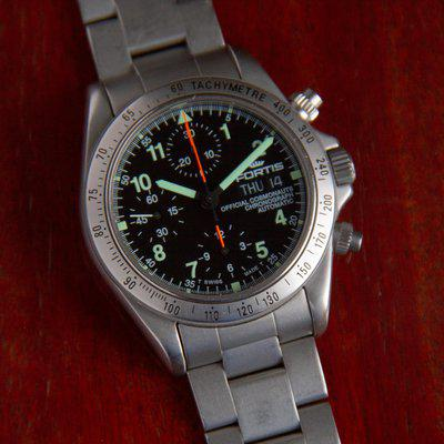 FS - Fortis Official Cosmonauts Chronograph ref. 630.22.141
