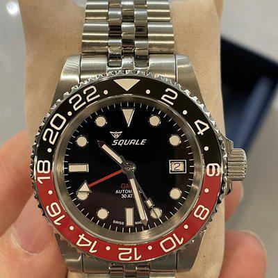 [WTS] Squale 30 ATMOS Black/Red GMT Ceramica - 40mm