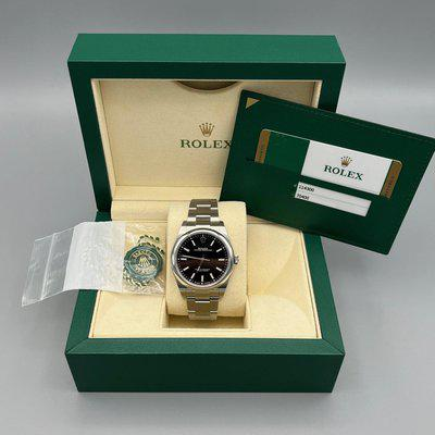 FS: Rolex Oyster Perpetual 114300 Black Dial 39mm Discontinued