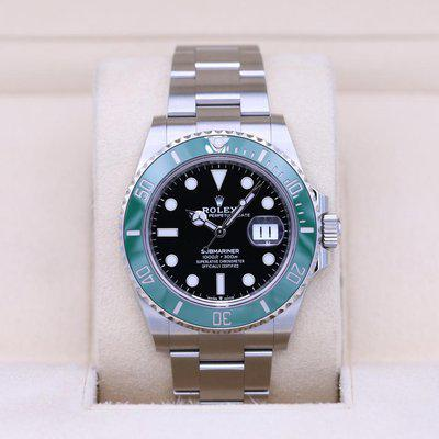 FSOT: Rolex Submariner Date 41 126610LV Green Bezel – 2020 Box & Papers