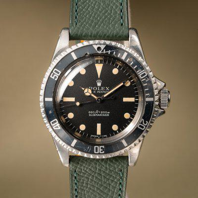 FS: 1968 Rolex Submariner 5513 Serif Dial with Service Papers