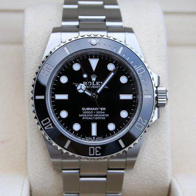 FS: Rolex 124060 Submariner No Date 41MM Box and Paper
