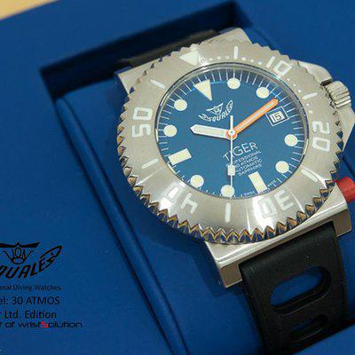 FS: NOS Squale Tiger Blue Limited Edition