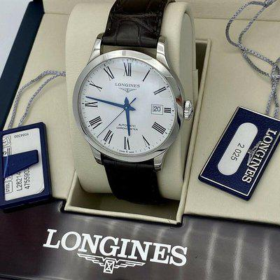 FS: Longines Record Automatic White Dial Watch L2.820.4.11.2 Complete!