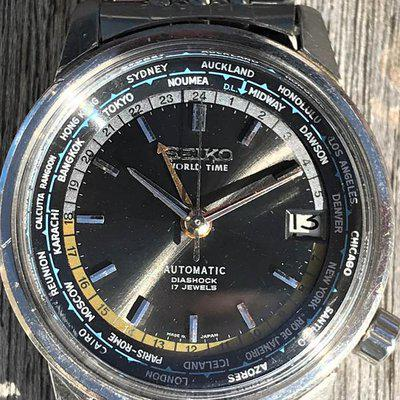Vintage Seiko 1964 Olympic World Timer *PIC*