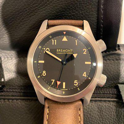 Bremont U2/T Timeless limited Edition of 100 Bronze Barrell No Date