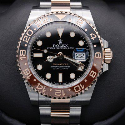 FSOT: Rolex GMT Master II - 126711CHNR - Root Beer - Two Tone - 40mm - New 2021