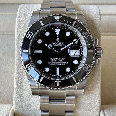 FS: 2011 Rolex 116610LN Submariner Date Ceramic 40mm Watch W/ BOXES AND PAPERS! WOW!