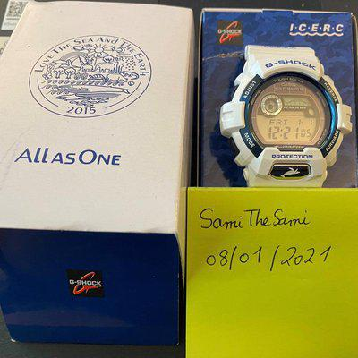 [WTS] Casio G-SHOCK GWX-8902K-7JR ICERC Whale & Dolphin Love The Sea And The Earth