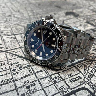 [WTS] Squale 30ATM GMT 40MM Like New Full Kit