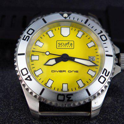 For Sale Scurfa with Yellow dial full kit and additional bezel insert