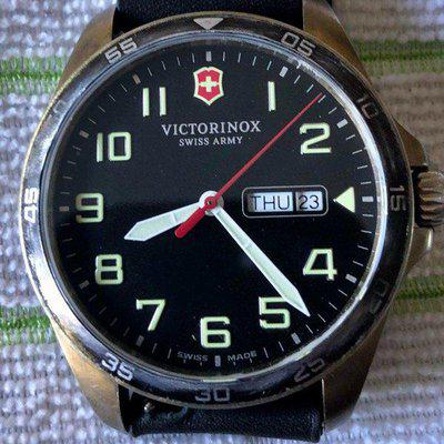 Gone To A New Home: Victorinox Field Force Brass Mod Free