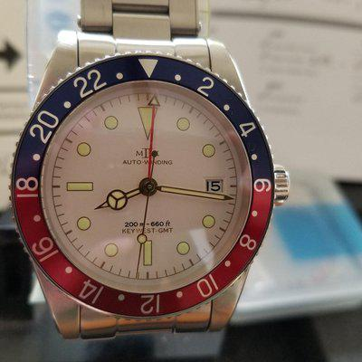 FS: $OLD!! MKII Key West White Dial GMT - $OLD!!