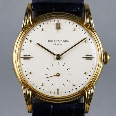 FS: 1948 Patek Philippe YG Calatrava Ref: 2407 with Archive Extract Papers