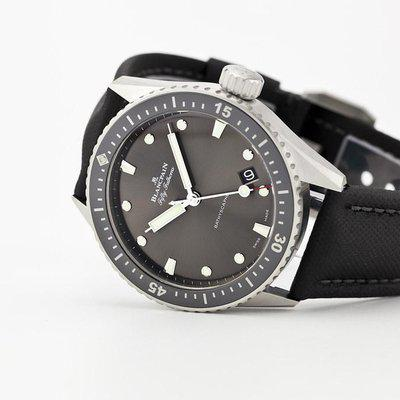 fsot - Blancpain Fifty Fathoms - Bathyscaphe - 5000-1110-B52A ( new / 2020 )